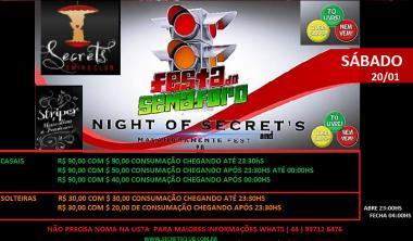 FESTA DO SEMAFORO SECRETS CLUB, BALADA LIBERAL