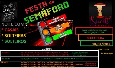 HOT MENAGE FESTA DO SEMAFORO, BALADA LIBERAL EM MA